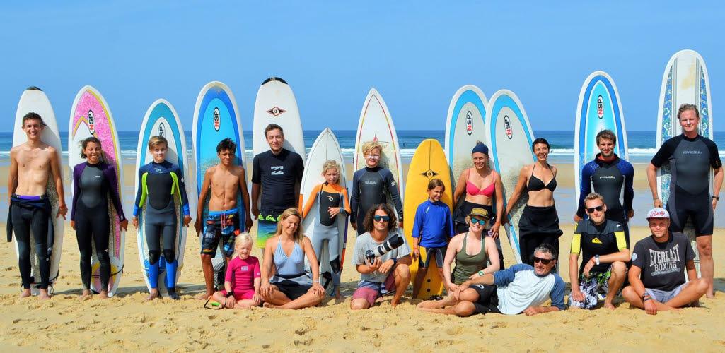 Familien Surfcamp Frankreich