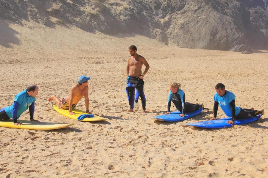 Surfkurse Luz Algarve